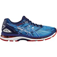 Asics GEL-NIMBUS 19 Mens Running Shoes, Blue/White