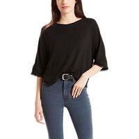 Levis Raglan T-Shirt, Jet Black
