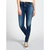 Calvin Klein High Rise Skinny Jeans, Waterfall