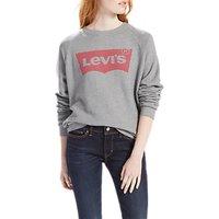 Levis Relaxed Batwing Graphic Sweatshirt, Smokestack