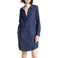 Levis Iconic Western Dress, Authentic Blue
