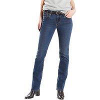 Levis 714 Mid Rise Straight Jeans, Wanderlove