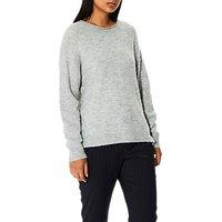 Selected Femme Layla Knit Jumper, Grey