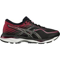 Asics GEL-CUMULUS 19 Womens Running Shoes, Black/Pink