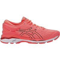 Asics GEL-KAYANO 24 Womens Running Shoes, Coral