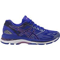 Asics GEL-NIMBUS 19 Womens Running Shoes, Blue/Purple