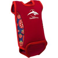 Konfidence Baby Strawberry Baby Warmer Suit, Red