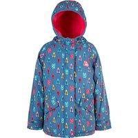 Frugi Organic Baby Nellie Waterproof Jacket, Blue