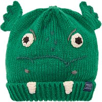 Little Joule Childrens Chummy Dragon Character Beanie Hat, Multi