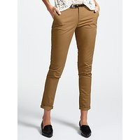 Maison Scotch Chinos with Leather Belt