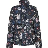 Gerry Weber Quilted Flower Print Jacket, Multi