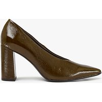 Kin by John Lewis Anna Pointed Toe Court Shoes, Khaki