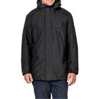Jack Wolfskin Iceland 3-in-1 Waterproof Mens Jacket, Black