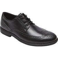 Rockport Madson Brogue Shoes, Black