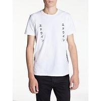 Edwin Labyrinth Short Sleeve T-Shirt, White