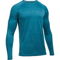 Under Armour Tech Patterned Long Sleeve Training T-Shirt, Blue