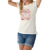 Fat Face Campervan Graphic Print T-shirt