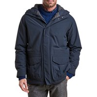 Barbour Rivington Waterproof Hooded Jacket, Navy