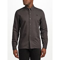 Fred Perry Brushed Oxford Shirt, Black