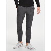 J.Lindeberg Sasha Manhattan Trousers, Grey Melange