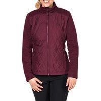 Jack Wolfskin Echo Pass 3-in-1 Insulated Waterproof Women's Jacket, Red