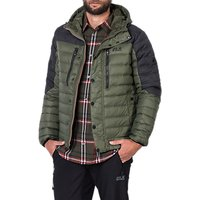 Jack Wolfskin Richmond Mens Down Jacket, Green