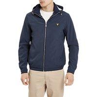 Lyle & Scott Jersey Lined Soft Shell Jacket, Navy