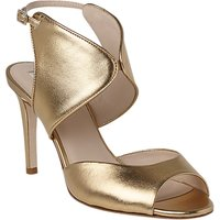 L.K. Bennett Cecilia Formal Stiletto Heeled Sandals, Gold