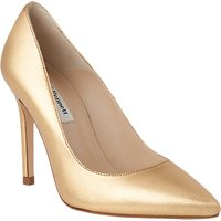 L.K. Bennett Fern Pointed Toe Leather Court Shoes