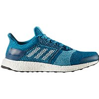 Adidas UltraBOOST ST Mens Running Shoes, Blue Night/Mystery Petrol