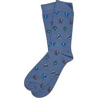 Barbour Beetle Socks, Blue