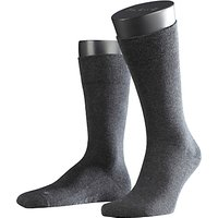 Falke Airport Short Socks, Charcoal Melange