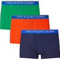 Polo Ralph Lauren Cotton Trunks, Pack of 3