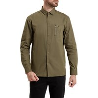 Lyle & Scott Zip Pocket Shirt, Olive