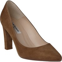 L.K. Bennett Tess Block Heeled Court Shoes