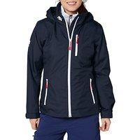 Helly Hansen Crew Hooded Midlayer Waterproof Womens Jacket, Navy