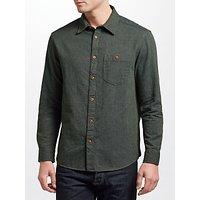 JOHN LEWIS & Co. Pin Dot Textured Shirt, Green