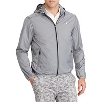 Polo Golf by Ralph Lauren Packable Taffeta Anorak, Stone Grey