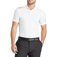Polo Golf by Ralph Lauren Custom Fit Performance Polo Shirt, Pure White
