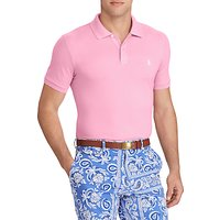 Polo Golf by Ralph Lauren Stretch Mesh Pro Fit Polo Shirt, Beach Pink