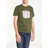 Original Penguin Pete Present T-Shirt, Forest Green