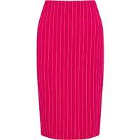 Marc Cain Pinstripe Stretch Pencil Skirt