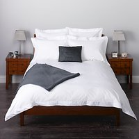 John Lewis & Partners Crisp and Fresh Satin Stitch 200 Thread Count Egyptian Cotton Bedding