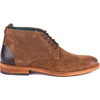 Barbour Benwell Leather Chukka Boots  Tobacco