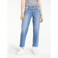 AND/OR Los Feliz Fray Jeans, Blue
