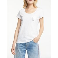 AND/OR That Was Then T-Shirt, White/Black
