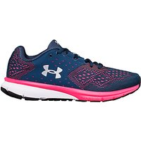 Under Armour Charged Rebel Womens Running Shoes, Navy