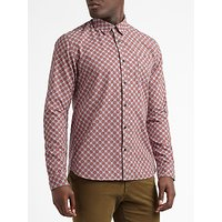 Scotch & Soda Brushed Cotton Long Sleeve Shirt