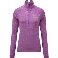 Ronhill Stride Thermal Long Sleeve Half-Zip T-Shirt