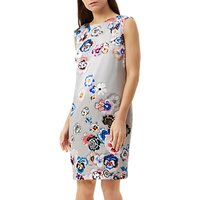 Fenn Wright Manson Petite Cologne Dress, Grey/Multi